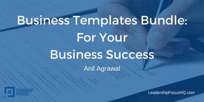 Business Templates Bundle