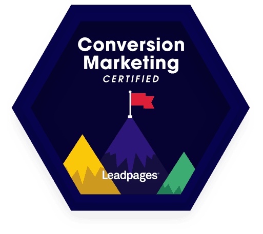 Anil Agrawal Leadpages Conversion Marketing Certified